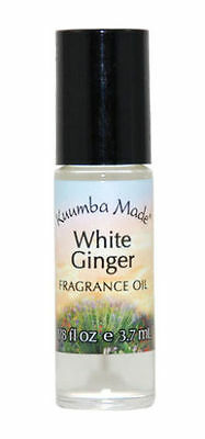 Kuumba Made Roll On Scented Perfume Oil 1/8 oz: WHITE GINGER (Body Oils)