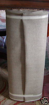 """NATURAL LINEN backing for Rug Hooking 60"""" Wide HAIRLESS ORDER 5-14 only YD HERE"""