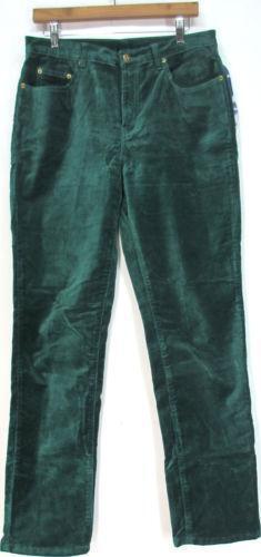 Green Velvet Pants Ebay