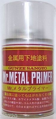Mr Hobby Metal Primer 100ml Spray B504 Gunze GSI Creos Paint Primer Tool Supply - Hobby Tool Supply