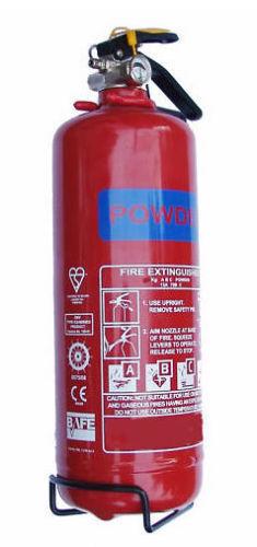 POWDER FIRE EXTINGUISHER EMERGENCY BLANKET 600G 950G 1KG HOME WORK TAXI VEHICLE
