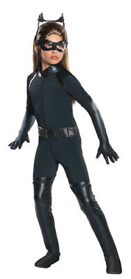 Deluxe Girls Catwoman Catsuit Halloween Costume - Costumes Catwoman