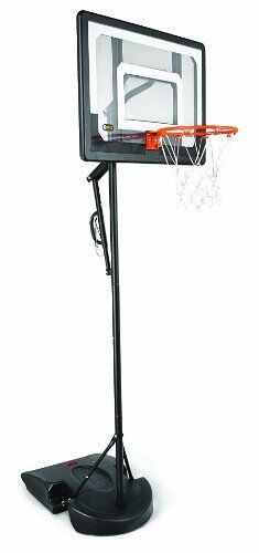 """SKLZ HP08-000 Pro Mini Basketball Hoop System. Adjustable Height 3.5 ft. -7 and 7"""" Ball."""