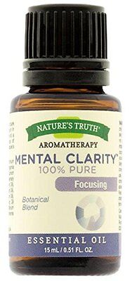 Natures Truth Aromatherapy Mental Clarity Pure Essential Oil 0 51 Oz
