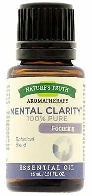 Nature's Truth Aromatherapy Mental Clarity Pure Essential Oi