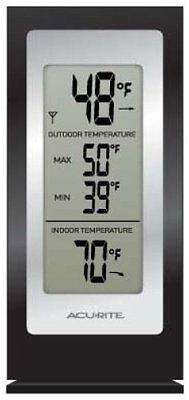 Acurite Digital Indoor   Outdoor Thermometer   Celsius  Fahrenheit Reading