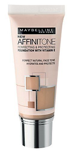 Maybelline Affinitone Foundation 02 Light Porcelain Perfecting & Protecting 30ml