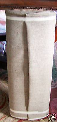 """NATURAL LINEN BACKING FOR RUG HOOKING 55"""" WIDE BOLT THIS IS A 15-49 YD BOLT ONLY"""