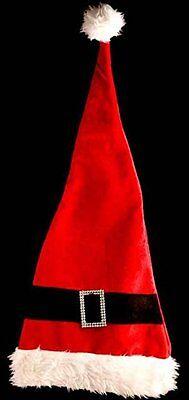 Extra Lang Weihnachten Vater Weihnachtsmann Kostüm Hut - Vater Baby Kostüm