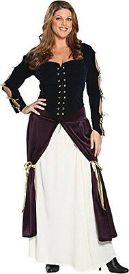 Plus Size Lady Musketeer Costume 3XL Halloween dress up](3 Musketeer Costume)
