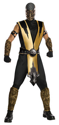 Mortal Kombat Scorpion Ninja Costume Size Standard](Mortal Kombat Ninja Costume)
