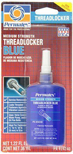 Permatex 24240 Medium Strength Threadlocker Blue, 36 ml