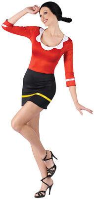 Sexy Olive Oyl Popeye Adult Womens Halloween Costume