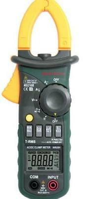 New Ms2108 Ac Dc True Rms Clamp Meter Backlight In-rush Diode Test