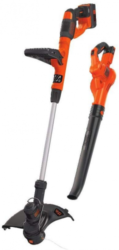 BLACK+DECKER 40V MAX Cordless Sweeper & String Trimmer Combo