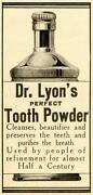 Dr Lyons Tooth Powder