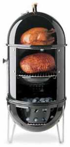"""Weber 18.5"""" Smokey Mountain Cooker - Excellent Used Condition"""