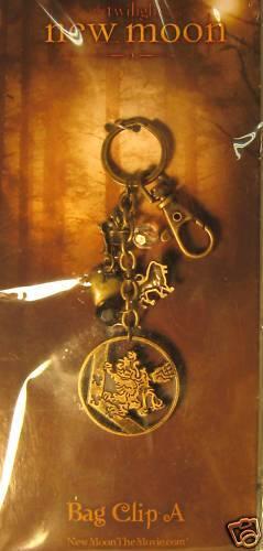"Twilight Saga ""New Moon"" Crest Charm Bag Clip by NECA"
