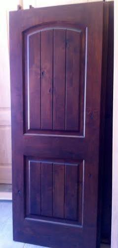80 Alluring Front Door Designs To Refine Your Home: Rustic Door