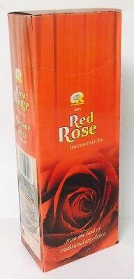 GR Incense Sticks Best Seller Red Rose 120-Stick  Free