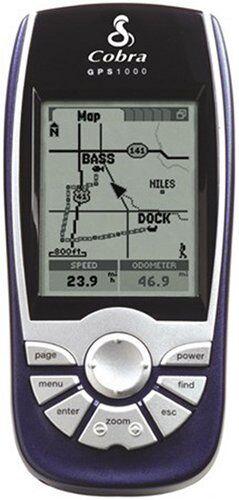 Cobra GPS 1000 DLX 1.8-Inch Portable GPS Navigation