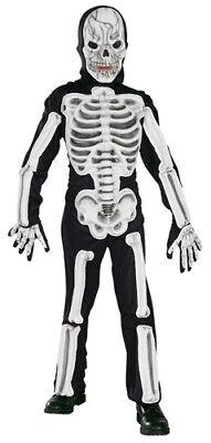 Skeleton Halloween Costume Child (Scary Eva Skeleton Childrens Halloween)