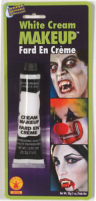 Cream Halloween Makeup - White Cream Makeup Halloween Costumes and Accessories