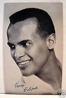 - Harry Belafonte Rock N Roll Billboard Music Vend Card