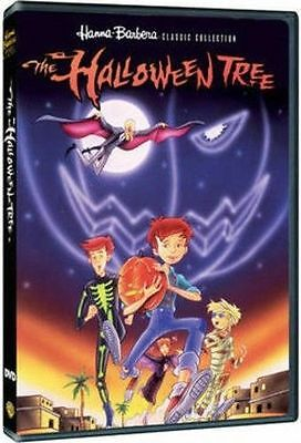 THE HALLOWEEN TREE. Hanna Barbera animated movie cartoon. Region free. New DVD.