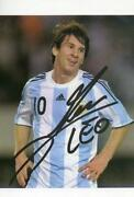 Messi Autogramm