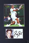 Roger Federer Signed