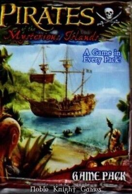 WIZKIDS PIRATES MINIATURES GAME : MYSTERIOUS ISLANDS BOOSTER PACK X 6