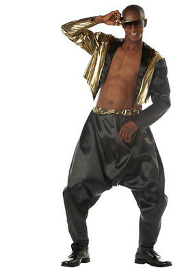 Old School Rapper Mens MC Hammer Costume