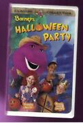 Barney Halloween Party VHS