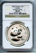 2000 Silver Panda