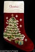 Pottery Barn Tree Stocking