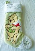 Pooh Stocking
