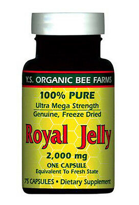 Y.S. Eco Bee Farms 100% Pure Freeze Dried Royal Jelly 200...