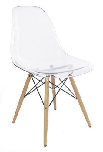 Clear Dining Chairs Ebay