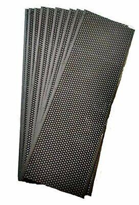 Acorn Bee 10ct Medium black plastic bees wax coated foundation sheet Made in USA