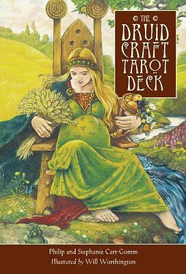 Druid Craft Tarot Deck Cards Wiccan Pagan Metaphysical