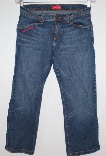 Apple Bottoms Blue Denim Jeans Low Rise Jeans Women/'s  7 8  NEW