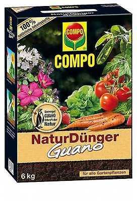 COMPO BIO NaturDünger Guano 6 kg (3,33€/1kg)