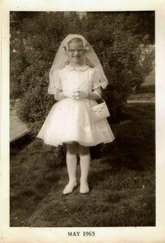 Vintage First Communion Dress Ebay