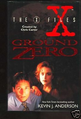 X-Files: Ground Zero by Kevin J. Anderson (1995) LOOK!