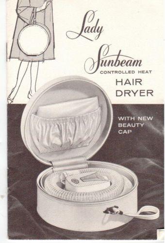 Lady Sunbeam Hair Dryer Ebay