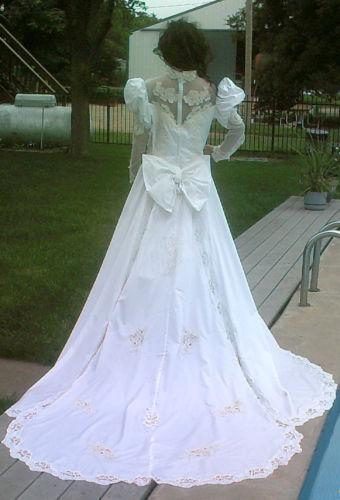 80s wedding dress ebay junglespirit Gallery