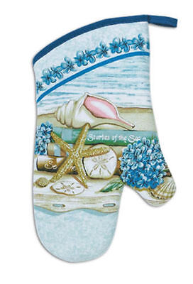 (New Kay Dee Designs Stories of The Sea Oven Mitt 100% Cotton)