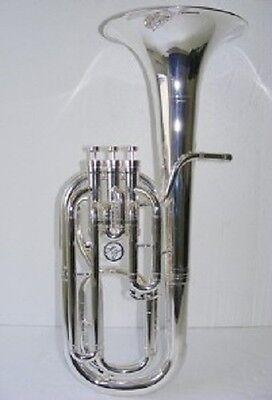 Renaissance BH5500SP Baritone Horn in Silver Plate