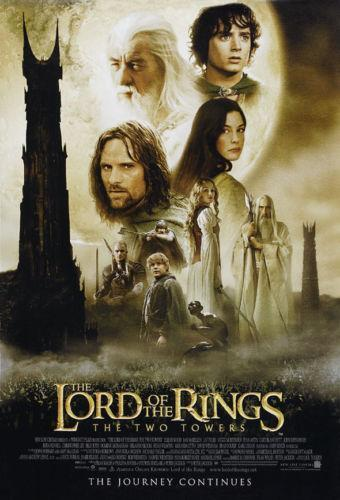 lord of the rings movie poster ebay